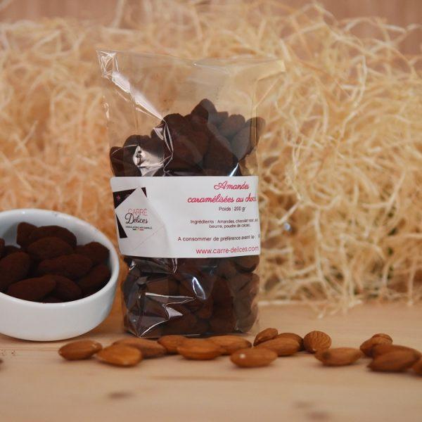 Amandes chocolatées